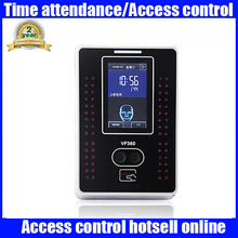 Biometric face and 13.56mhz MF card time attendance and simple access control function with TCP/IP USB communication VF360(China)