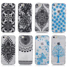 Cell Phone Case For Apple iPhone SE  6C 5SE  55s Cover 5 5S 5G 55S Smartphone silicone Soft TPU Housing SCAH03