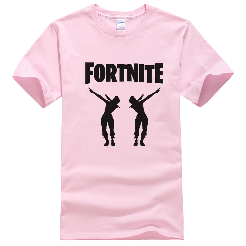 Hot Sell Battle Royale T-Shirt Adult Mens Fortnit Tees Children& Kid& Gaming Funny Dance fashion top T-Shirt Men's tshirt T470(China)