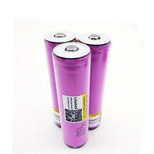 3pcs protected new original Liitokala For Samsung 18650 2600mah battery ICR18650 - 26F M Li lon rechargeable with PCB