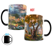 Bambi mugs heat reveal heat changing color mug coffee mug ceramic novelty porcelain beer tea cups home decal kitchen drinkware