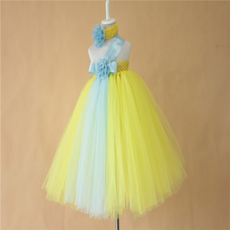 2015 new design girl kids wedding dress princess party girls clothes children clothing birthday tutu dresses baby  -  Yiwu Dierong Handcrafts E-Commerce Firm store