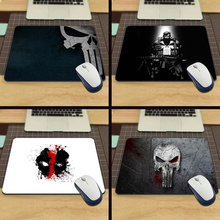 Top Quality Customized Marvel Comics Punisher Mask Logo Game Gaming Durable Mouse Mat PC Computer Mouse Pad Laptop Mat to Mouse