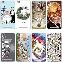 Studio Ghibli Spirited Away Totoro Cover Case for Xiaomi Redmi Note 2 3 4 Pro Prime 4A 4X 3S Mi 5 5S 6 Plus mi6 mi5 S mi5s Cases