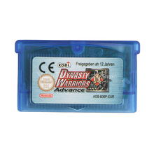 Nintendo GBA Video Game Cartridge Console Card Dynasty Warriors Advance ENG/FRA/DEU/ESP/ITA Language Version