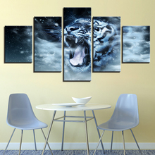 5 board pictures ocean sailing contemporary household adornment picture on the canvas print news photo frame wall art(China)