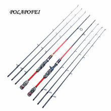 POLAPOFEI 3 Tips Carbon Fishing Rod Lure Fishing Pole Spinning Rod Fly Casting Rods ML M MH Fish Tackle Carp Peche Pesca D265(China)