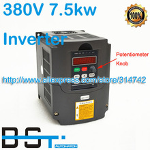 High Quality spindle motor inverters 7.5KW Drive VFD Inverters 380V 17A Variable Frequency 380V AC