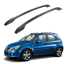 2Pcs/Set Stainless Steel Roof Racks Roof Boxes Easy Install Without Drilling Luggage Rack AUTO Refit Case for Suzuki SX4