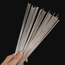 100Pcs Stainless Steel Party BBQ Needles Sticks 29cm Portable Grill Barbecue Skewers Kebab Needle Outside Accessories