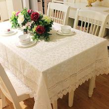 Fashion dining tablecloth cloth lace fabric table mat  135*180cm