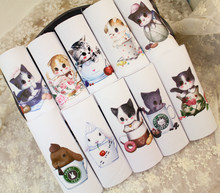 12*12cm Cup cat 100% cotton canvas fabric cloth positioning cloth handmade diy patchwork fabric digital printed cloth