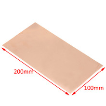 1pc New 99.9% Pure Copper Cu Metal Sheet Plate Foil Panel 100*200*0.5MM For Industry Supply(China)