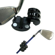 New Black Round Weight Power Swing Ring for Golf Clubs Warm up Golf Training Aid Golf counterweight equipment(China)