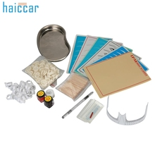Hot Best Deal Popular Microblading Eyebrow Lip Tattoo Pigment Manual Pen Practice Skin Needles Kit Nov.10(China)