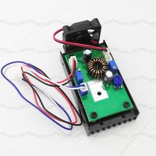 DIY 532nm laser driver board 650nm 450nm 200mW 500mw 1W/2W/2.5W/5W blue laser module power supplier driver 12V/TTL/heat sink
