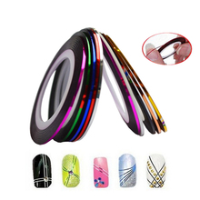 1 XNew Fashion 1mm/2mm/3mm Nail Rolls Striping Tape Line Decorations Nail Sticker DIY for Nail Art UV Gel Polish Tips LANC124