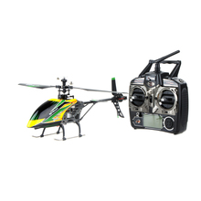 100% Original  V912 Large 4CH Single Blade RC Helicopter 2.4GHZ Radio System RC Plane with Mode 2 Universal Transmitter