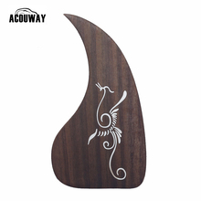 "Acouway Acoustic Guitar Pickguard  40"" 41"" 42"" Solid rosewood made Professional Pick Guard Sticker"