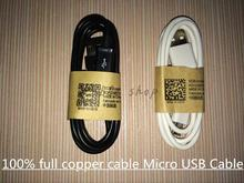 3 pc/lot High quality full copper Micro USB Cable 2.0 Data sync Charger cable  For Samsung galaxy