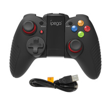 iPega Wireless Gaming Handle Bluetooth 3.0 Game Controller Game Joystick For iOS Android Phones TV Box Hot Sale Drop Shipping