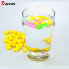 50pcs Corn Smell Carp Fishing Lure Silicone Soft Plastic Bait Tackle Floating Lures China Accessories Fish Artificial Set Pond(China)