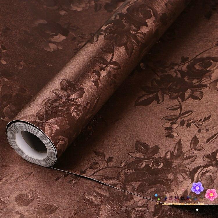 Wallpaper vinyl self adhesive thickening fashio ncoffee embossed wallpaper white<br><br>Aliexpress