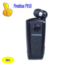 100% Original Fineblue F910 Wireless Bluetooth Earphone Headset In-Ear Vibrating Alert Wear Clip Hands Free Earphone For Phone