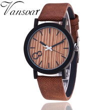 2017 Simulation Wooden Relojes Quartz Men Watch Casual Wooden Color Leather Strap Watch Wood Male Wristwatch Relogio Masculino