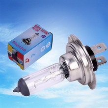 Hot Saleing H7 Halogen Xenon Car Light Bulb Lamp Cars Light Bulbs H7 12V 55W Factory Price Car Styling Parking Free Shipping(China)