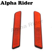 2x Motorcycle Front Fork Leg Reflector Safety Warning for Harley Sportster 883 1200 XL Dyna Touring Electra Glide Sofitail V-Rod
