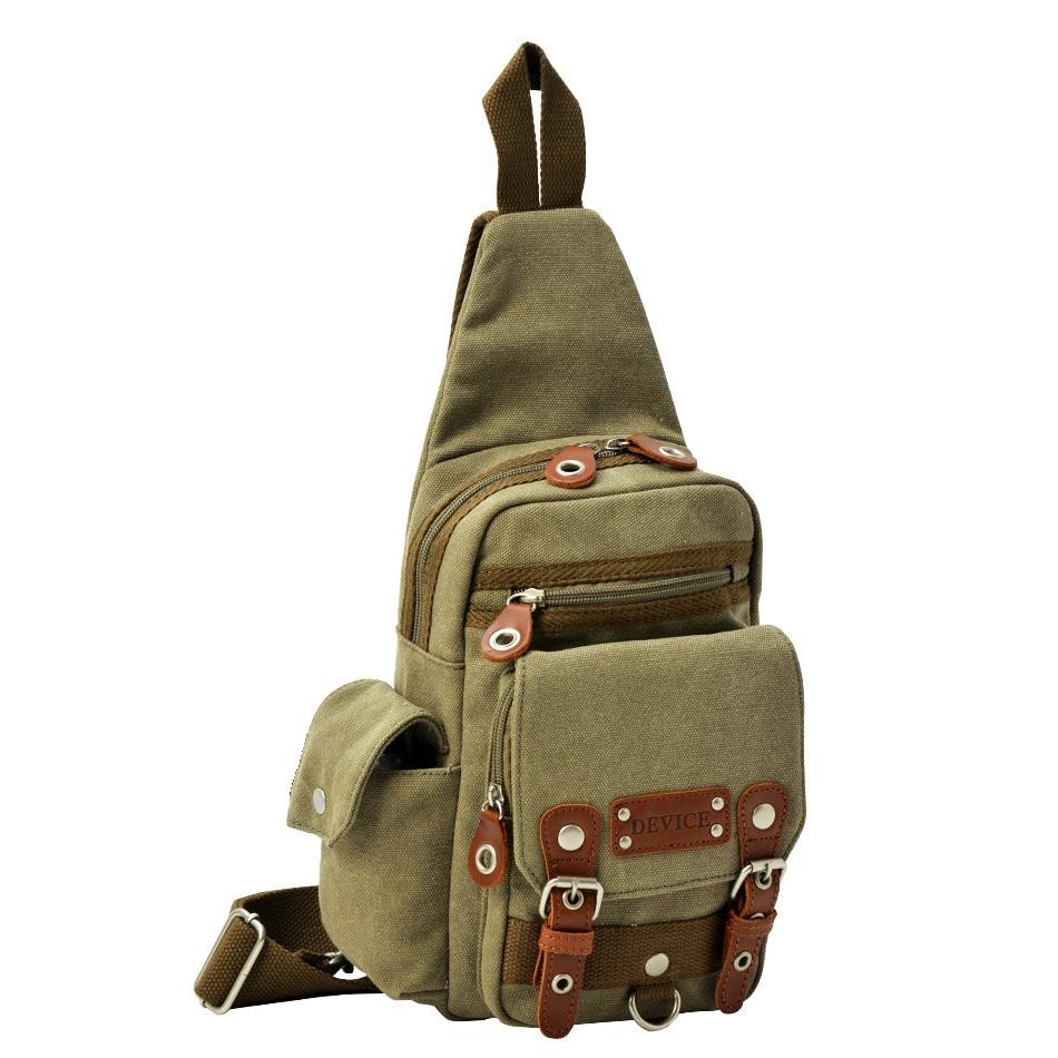 Crosscharm Brand Canvas Leather Messenger CrossBody Bag Sling Pack For Travel Daypack Shoulder Bags Teenagers DBH-30028<br>