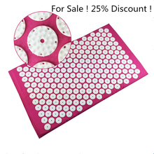 Acupressure Mat Export to Japan Back or foot Massage Cushion Shakti Mat Mild Acupuncture mat Yoga mat relieve sress Drop ship