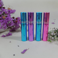 10UV painting mini 5ml 10ml Glass perfume bottle ,5 ml 10 small glass spray , - Sunrise Cospack Limited store