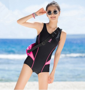 Lycra Professional OnePiece Competitive Waterproof Backless Bodysuit Swim Maillot Women Summer Padding Sport Beach Bathing Suits<br>