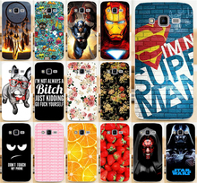 For Samsung Galaxy Core Prime G3608 G3606 G360 3608 3606 Cute Animal Dog Super man Dreamchatcher Phone Cases Cover Skin Shell(China)