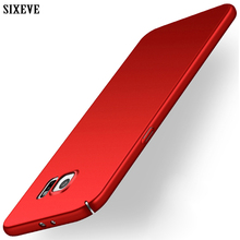 SIXEVE High Quality Case For Samsung Galaxy S6 Cell Phone Cover Ultrathin Hard Plastic PC Matte Design Fashion Colors Back Coque