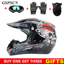 GSPSCN Motocross Helmet Off Road Professional ATV Cross Helmets MTB DH Racing Motorcycle Helmet Dirt Bike Capacete de Moto casco(China)