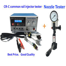 By DHL Buy CR-C Diesel Common rail injector tester + S60H nozzle validator tool together with good price