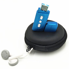 100% New MP3 Player USB charging TF Card Support 32GB Mini With Earphone Headset package micro sd Card MP3 Player Sport Compact