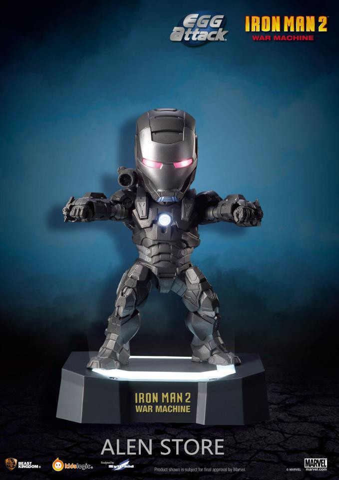 ALEN Superhero Iron Man 2 led light Action Figures PVC brinquedos Collection Figures toys for christmas gift<br>