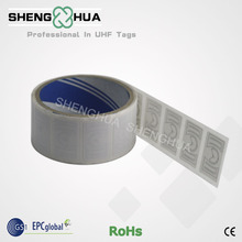 50pcs/lot 900MHz RFID Tag Disposable Printable UHF Passive RFID Label Sticker for Uploading and Downloading Data