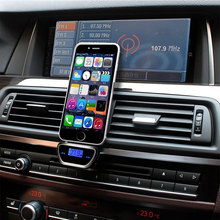 New Arrival FM Transmitter Car MP3 Audio Player 3.5mm Wireless Bluetooth Music Player With LCD Display for iPhone Smart Phone