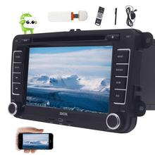 Android Quad Core Car DVD Player 7'' Car Stereo GPS Navigation Double Din In Dash WiFi Bluetooth AM FM Radio+CANBUS+3G Dongle