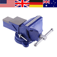 WALFRONT Heavy Duty Press Jaw Vise Milling Drilling Clamp Machine Opening Hand Tools Bench Table Sucker Repair Mini Tool Vise(China)