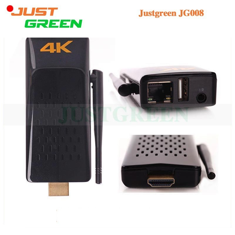 Tritina JG008 Mini Smart TV Box RK3288 Quad Core 2GB RAM 8GB ROM WIFI HDMI Bluetooth 4.0 USB 4K Player Android 4.4 OS