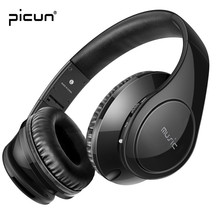 Picun P7 Bluetooth Headphone Music Heavy Bass Wireless Headset With Microphone Support TF Card FM Radio for Iphone Samsung MP3/4