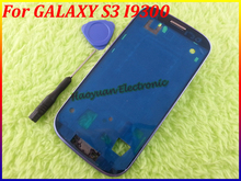 HAOYUAN.P.W Original Front Frame Bezel Housing Cover Panel Parts Case for Samsung Galaxy S3 III i9300+Open Tool(China)