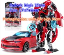 Children toy boy 19cm deformation model of robot force control deformation robot toy high-end gift set birthday gift YXX(China)