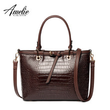 AMELIEGALANTI 2017 fashion women handbag famous designer brand bags pu women totes bag  vintage serpentine shoulder bag trapeze